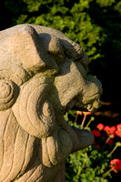 Stone Lion at the Japanese Tea House
